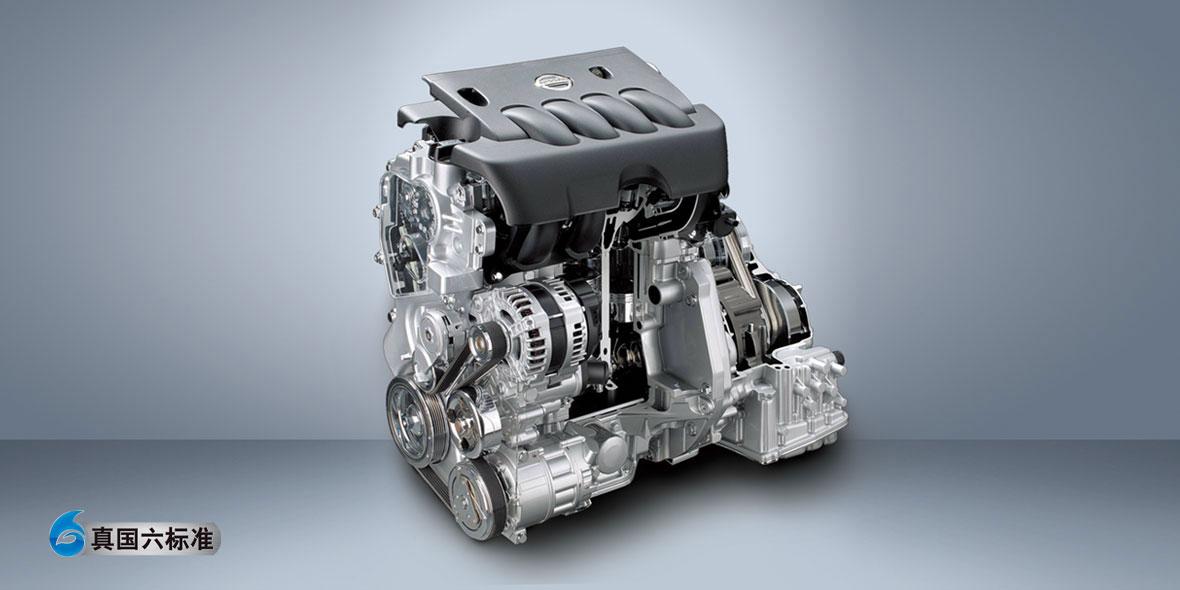 全新升級第三代MR20缸內直噴發動機