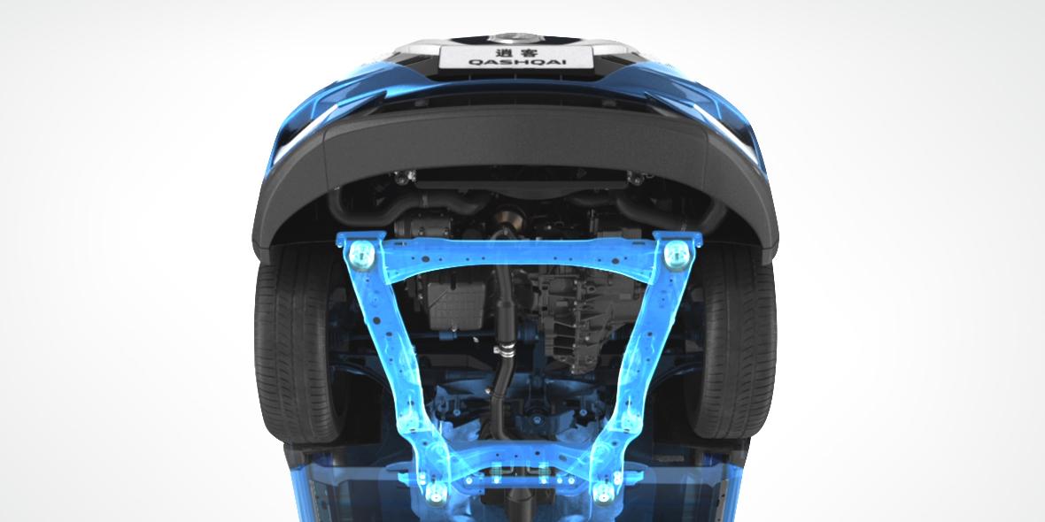 CMF平台专业SUV底盘(搭载全框式副车架)